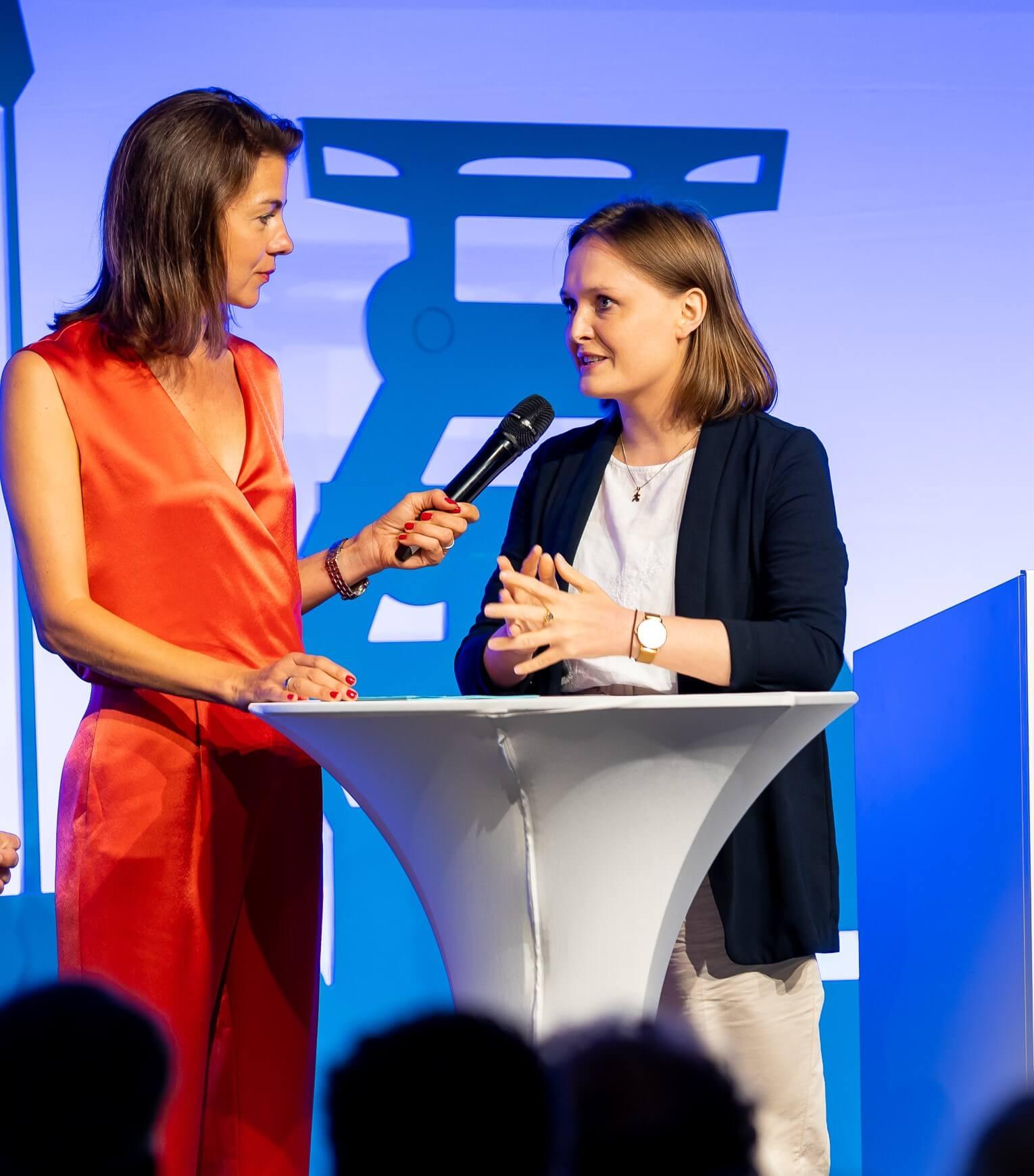 Anna Konopka beim Stiftungstag